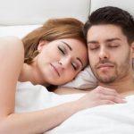 Mann & Frau schlafend